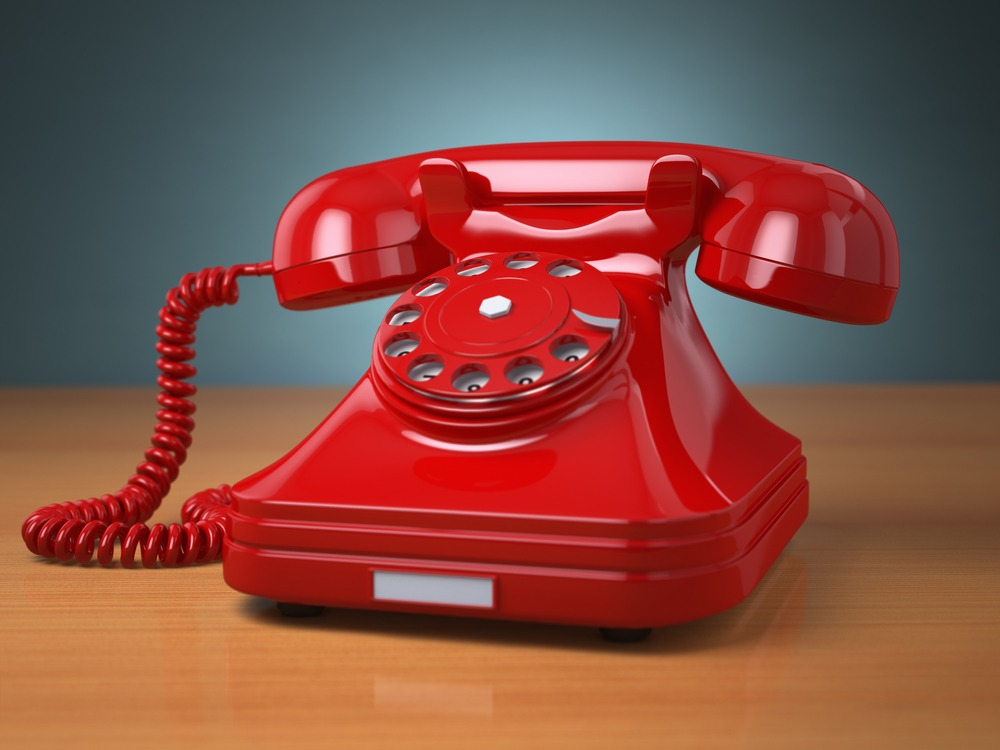 Don't Hang Up! Why the telephone should still be a key player in your business.